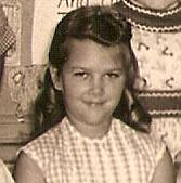 I looked all over for the hail picture and cannot find it. So instead, here's me from my second grade class photo. Maybe thinking about hail.