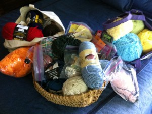 A few of the reasons I'm not allowed to buy any more yarn, no matter how good it feels.