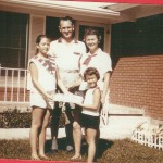 1960-Mother's very first flag cake