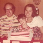 1977-Looks like maybe Kevin helped his Mimi a little bit with the decorating.