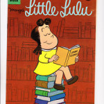 The cartoon character Little Lulu, possibly the inspiration for my imaginary companion