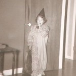 I was four, and I *think* Mother must have made this. It's much nicer than the inexpensive store-bought costumes that were available.