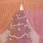 Mother and Daddy had things for the tree top, like this angel, who appeared a couple of times …