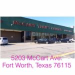 The McCart Family Thrift Store. It's amazing.