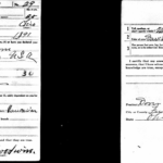 I've found my grandfather's draft registration card, filled in on June 5, 1917, about three weeks after the Selective Service Act was enacted
